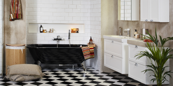 Bilde av badekar
