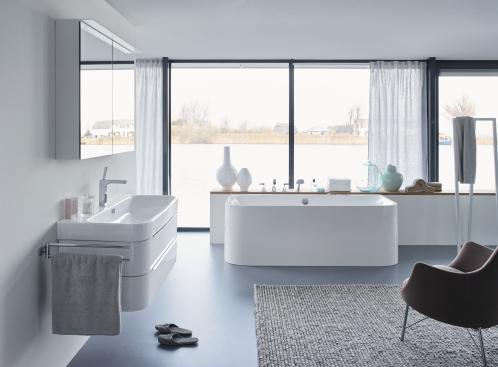 Bilde av bad med alternativt gulvbelegg